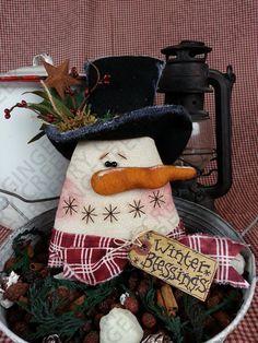 Winter Blessings Pattern 119 by GingerberryCreek on Etsy