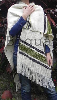 ¡DISFRUTÁ EL #INVIERNO!  No dejes que el #frío te gane, combatilo con estilo. #Emponchate con Biguá #Ruana #Telar Loom Weaving, Dresses, Amor, Loom Knit, Knits, Weaving, Headscarves, Vestidos, Loom