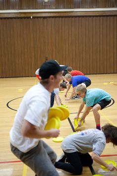 New Years/lock in ideas.  Frisbee dodgeball, three deep, other group games    Group games for all ages  Great for Home school groups or parties