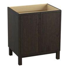 "Kohler K-99502-LG Jacquard 30"" Vanity Cabinet Only - Free Standing Installation"