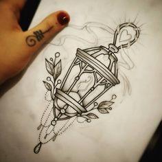 """""""sketchaway #tatuadoras #tattoosp #nagian #crosstattoo #crosstattoostudio #lamp…"""