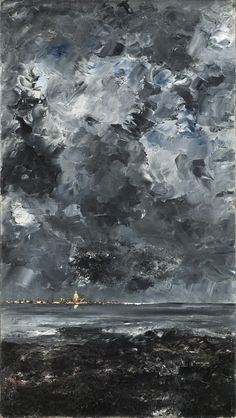 The Town | August Strindberg | 1903 | Nationalmuseum, Sweden | CC BY-SA