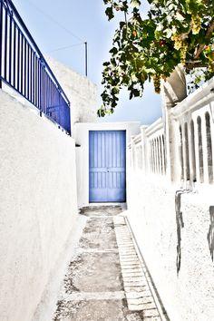 The Blue Door, Santorini, Greece