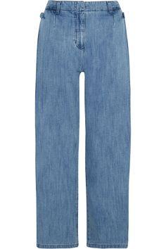 STEVE J & YONI P High-rise wide-leg jeans. #stevejyonip #cloth #jeans