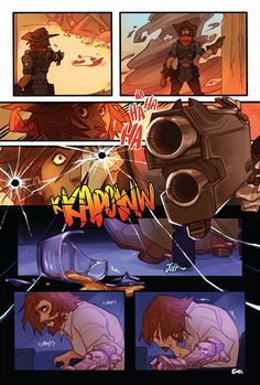 A Nightmare - or, how McCree could have lost his arm. Overwatch, << Is there a cannon for this, or what? Overwatch Video Game, Overwatch Comic, Overwatch Memes, Overwatch Fan Art, Outlast Horror Game, Heroes Of The Storm, Widowmaker, Art Memes, Starcraft