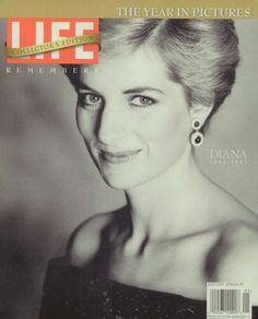 Princess Diana. LIFE Magazine, January 1, 1998. Click image to view entire issue for free. #Princess #Diana #Di