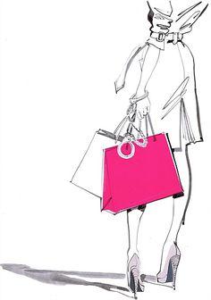 Jacqueline Bissett Illustration Portfolio – Hand Drawing Fashion Illustrator and Artist