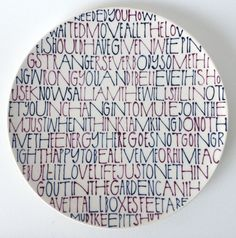 Maurice Christo van Meijel: Breathing (2013) schildering op keramiek, doorsnede 21 cm. (www.mauricechristo.com) Maurice, Tags