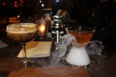 Cocktails at Baptiste & Bottle at the Conrad Chicago Hotel