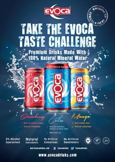 Evoca Drinks Poster