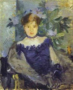 Le Corsage noir (1876) - Berthe Morisot