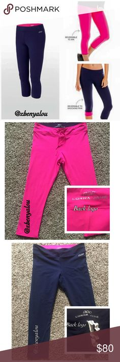 Lorna Jane 7/8 crop leggings Like new condition. Worn 1x. No damage or flaws. Tags a little frayed due to wash. Read the tag (in pic) for description.   👉 Please ask all questions before purchase!   👉No unnecessary comments about price is needed. Negative/rude comments WILL BE BLOCKED.   💰Price FIRM💰Cheaper on Ⓜ️ercari  🚫NO trades 🚫NO returns lululemon athletica Pants
