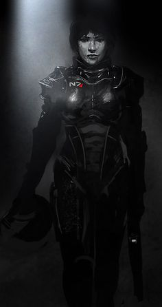 Femshep,Mass Effect,фэндомы,ME art