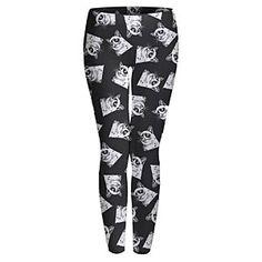 ThinkGeek :: Grumpy Cat Leggings $14.99