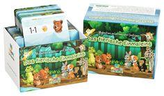 Das tierische Einmaleins – Einmaleins Fördermaterial bei Dyskalkulie Lunch Box, Dyscalculia, Multiplication, Multiplication Tables, Game Cards, Learning Games, Game Ideas, Bento Box