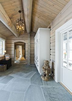 Mountain Cottage, Cozy Cottage, Wooden Cabins, Log Cabins, Real Estate, Interior, Norway, Home Decor, House Design