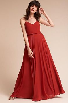 fb32222481df Anthropologie Inesse Wedding Guest Dress. We love a flowy dress that s both  understated and classic