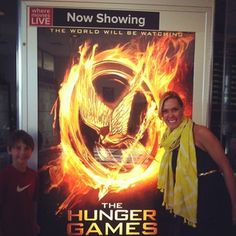 Take excited picture din front of the movie poster displays instead of keeping ticket stubs.