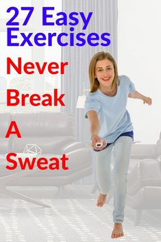 27 Healthy Exercise Ideas Without Breaking A Sweat 3 Easy Workouts, At Home Workouts, Break A Sweat, Healthy Exercise, Fat Burning Workout, Interval Training, Slim Body, Bodybuilding Workouts, Aerobics