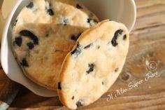 Biscotti salati alle olive per antipasti blog il mio saper fare