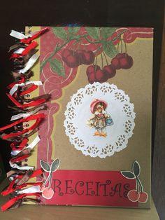 Caderno de receita Scraps da Naty  Contato: scrapsdanaty@gmail.com