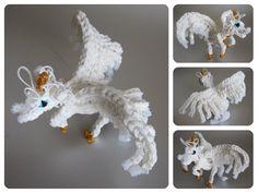 Part 1/2 Loombicious 3D horse unicorn pegasus Rainbow Loom