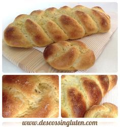 Deseos Sin Gluten: TRENZA DE PAN DULCE SIN GLUTEN Gluten Free Bakery, Gluten Free Sweets, Pan Dulce, Pozole, Foods With Gluten, Sans Gluten, Easy Cupcake Recipes, Gluten Free Living, Bread Machine Recipes