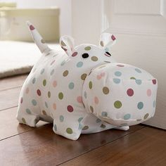 Harriet the Hippo doorstop- who doesn't love a Hippo