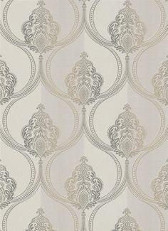 9676-37 creme brons goud barok behang