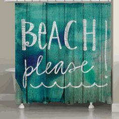 Sea Please Shower Curtain