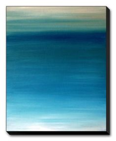 Ocean blue Giclee Print by Kenny Primmer at Art.com