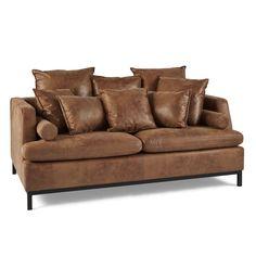 Hochwertige Couch in Wildleder-Optik - versandkostenfrei bestellen auf: http://moebeldeal.com/moebel/sofas-und-couches/5944/sofa-copenhagen-100-polyester?c=119