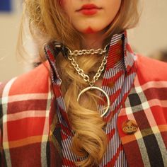London Fashion Week In Focus - Backstage at Vivienne Westwood Fall 2015