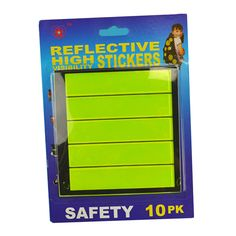 Outdoor Reflective Safety Tape Rectangle Cycling Motorcycle Car Mountain Bike Night Riding Safe Reflective Stickers for Bicycle