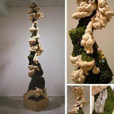 Keisuke Tanaka - Wooden Sculptures - Tento