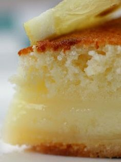 Dana's Lemon Cake Pie!!  Is it Cake?!  Is is Pie?!  It's BOTH!!  Try it ~ You Won't Regret it!!