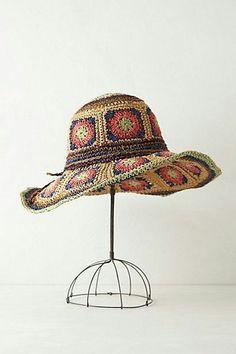 Crochet Adult Hat, Mode Crochet, Crochet Beanie Hat, Crochet Cap, Crochet Granny, Knitted Hats, Sombrero A Crochet, Art Textile, Crochet Woman