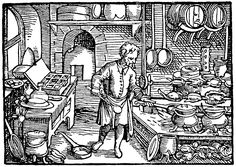 """Renaissance Kitchen"" from the blog entry 'Pantry Folk Magic' by Sarah Anne Lawless"