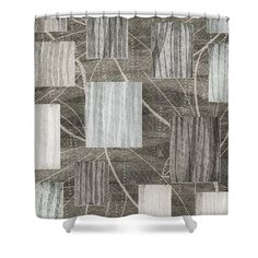 Deny Designs 71 by 74-Inch Viviana Gonzalez Geometric Abstract 2 Shower Curtain Standard