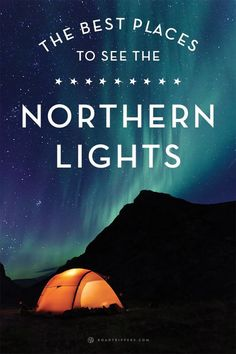 If you're planning to visit the Northern Lights, you might want to consider finding one of these amazing spots for your excursion.
