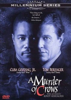 Rent A Murder of Crows starring Cuba Gooding Jr. and Tom Berenger on DVD and Blu-ray. Get unlimited DVD Movies & TV Shows delivered to your door with no late fees, ever. Really Good Movies, Great Movies, New Movies, Movies To Watch, Movies And Tv Shows, Eric Stoltz, Tom Berenger, Crow Movie, Movie Tv