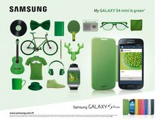 Samsung GS4 Mini: Green