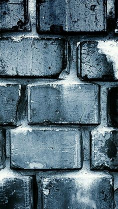 love minimal style - grey brick in the wall