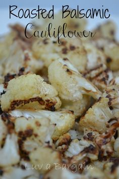 Roasted Balsamic Cauliflower