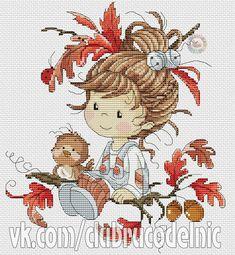 Little fairy 5 Cross Stitch Fairy, Cross Stitch Angels, Cross Stitch For Kids, Cute Cross Stitch, Cross Stitch Charts, Cross Stitch Patterns, Cross Stitching, Cross Stitch Embroidery, Hand Embroidery