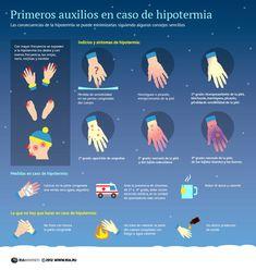Hoy, aunque el invierno aun no ha llegado, os traemos una infografía para empezar a prepararnos: cómo actuar en caso de hipotermia.  http://www.cometelasopa.com/infografia-primeros-auxilios-en-caso-de-hipotermia/