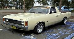 1974 Chrysler VJ Valiant ute