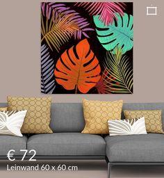 Black Canvas Art, Modern Canvas Art, Canvas Wall Art, Cute Canvas Paintings, Acrylic Painting Canvas, Peacock Wall Art, Art Corner, Tropical Art, Pencil Art Drawings