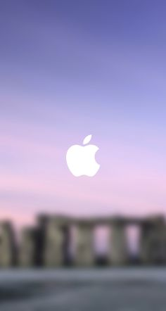 this is really cute! Apple blur wallpaper #wallpaper #hipster #tumblr #apple