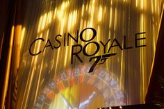 Theme for 2013:  Casino Royal - Decor makes all the difference!